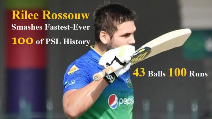 Rossouw 43 Balls Century Keeps Multan as the Sultan of Points Table