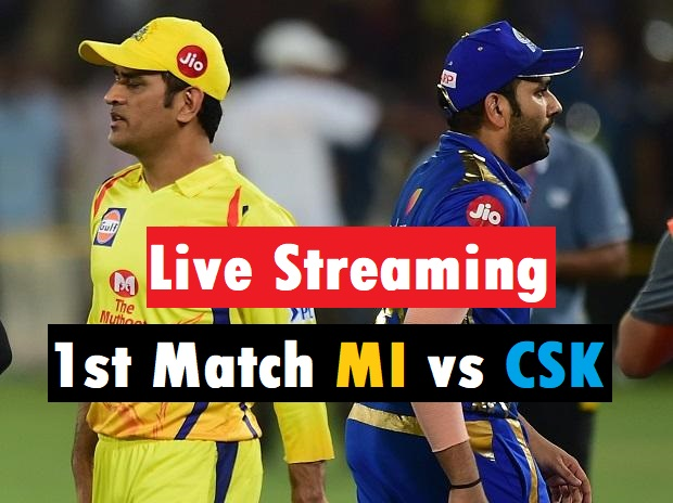 1st Match MI vs CSK