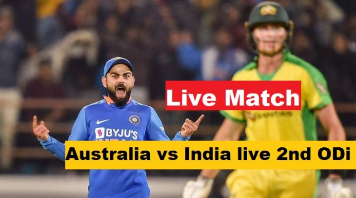 Australia vs India live 2nd ODi