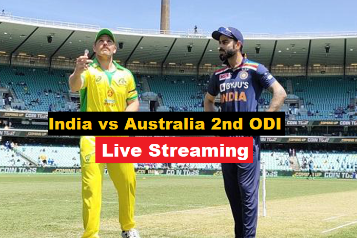 India vs Australia 2nd ODi live