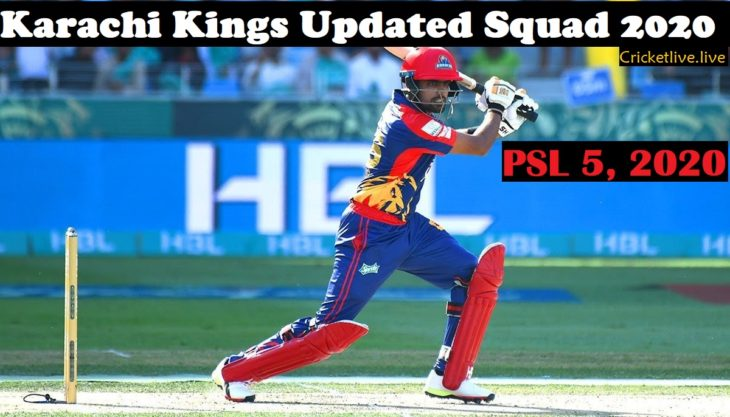 Karachi Kings Updated Squad