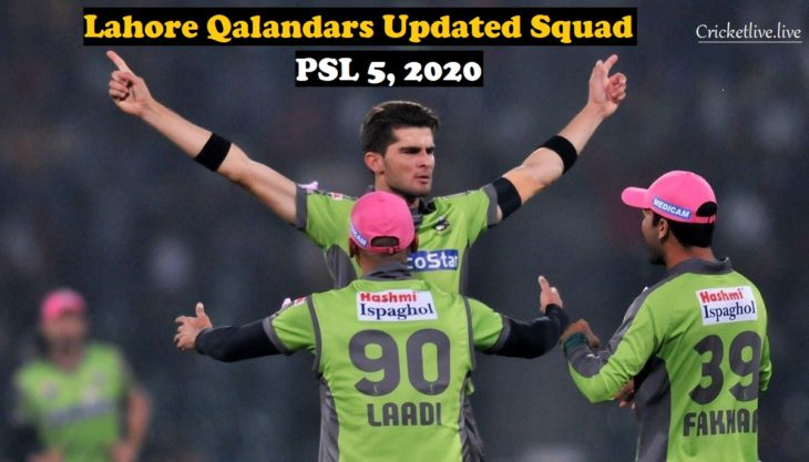 Lahore Qalandars Updated Squad