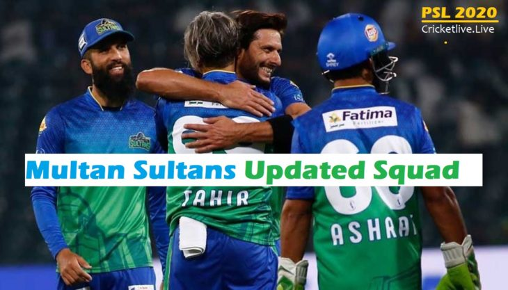 Multan Sultans Updated Squad