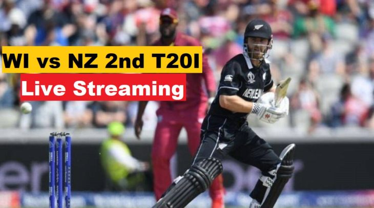 NZ vs WI 2nd t20 live