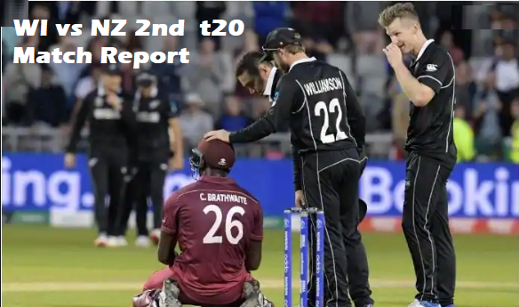 WI vs NZ Highlights