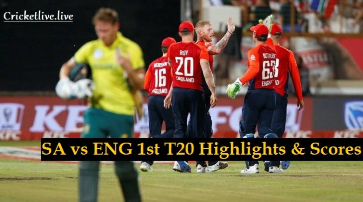 south Africa vs England list t20 highlights