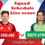 south Africa vs England schedule 2020-21